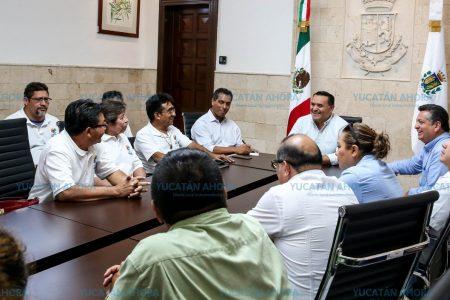 Alianza entre locatarios de mercados y el alcalde Renán Barrera