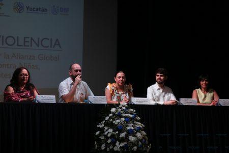 Suman esfuerzos por un Yucatán libre de violencia hacia los niños