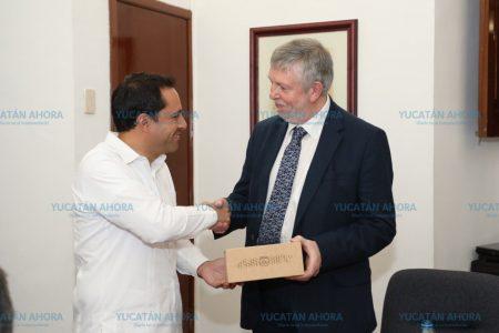 Mauricio Vila se reúne con el presidente de CNDH