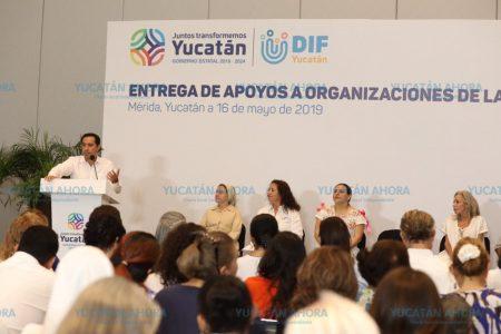 Fin al apoyo discrecional a las asociaciones civiles de Yucatán