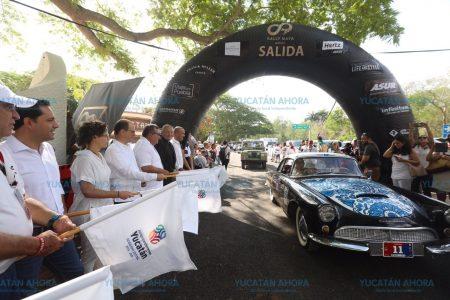 El Rally Maya, un museo rodante que recorre Yucatán