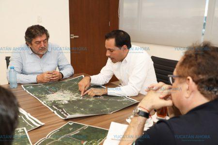 Mauricio Vila y Jiménez Pons revisan avances del Tren Maya