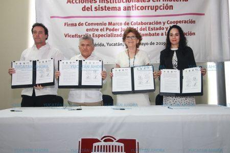 El combate a la corrupción, una prioridad en Yucatán