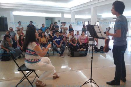 Afamada violinista elogia la vida cultural de Mérida