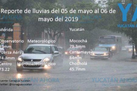 Las calles de Mérida, listas para la temporada de lluvias