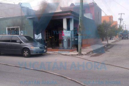 Dramático incendio en Progreso: ¡Mi hijo!, gritaba angustiada madre
