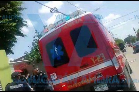 Niña de dos años muere bajo las llantas de un autobús