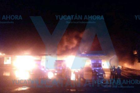 Peligroso incendio en la Ciudad Industrial
