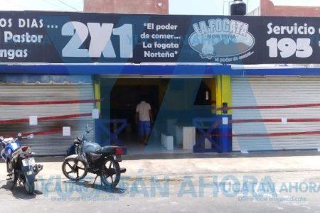 Por daño ambiental, clausuran La Fogata Norteña en Francisco de Montejo