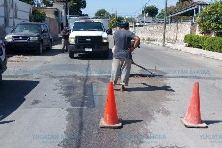 Pronta atención a fuga de agua en la García Ginerés