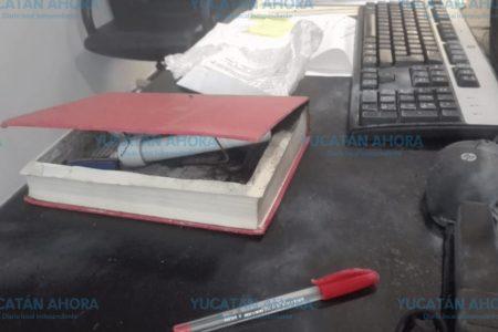 Envían libro-bomba a senadora de Morena: le estalla en la cara