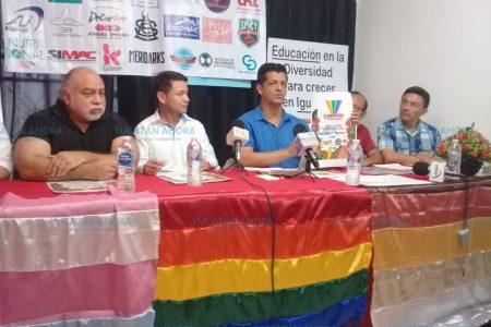 Comunidad LGBT+ marchará por sus derechos en Yucatán