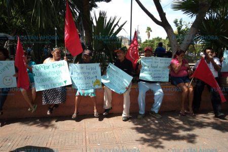 Protestan en Yucatán contra represión del gobernador de Hidalgo