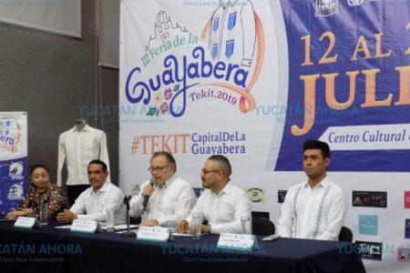 Promueven en Mérida la Feria de la Guayabera de Tekit