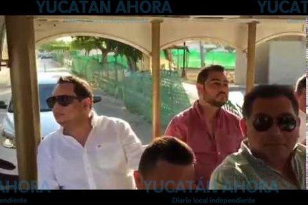El grupo perdedor del PRI en Yucatán, de la mano con 'Alito'