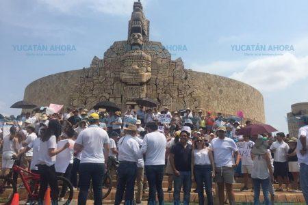 Meridanos le piden a López Obrador que respete la ley