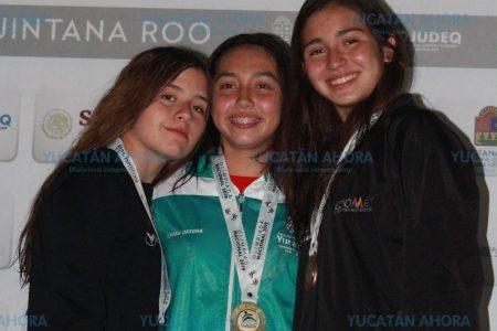 Yucateca Mariana Ortega, reina de la alberca en la Olimpiada Nacional