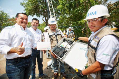 Internet más rápido y seguro en parques meridanos