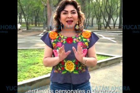 Ivonne Ortega pide que se haga ya la elección en el PRI