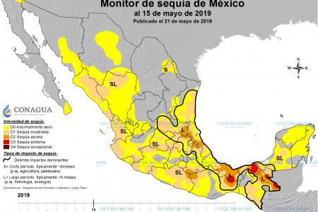 Oficialmente Yucatán está libre de sequía