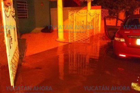 Vecinos de Vergel se encharcan cada vez que llueve