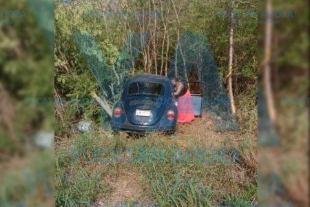 Familia de Campeche herida en accidente por dormitar su conductor