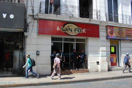 Explosión en céntrico local de comida china