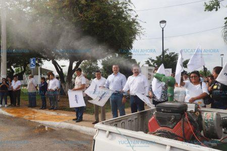 Arranca la campaña de fumigación y abatización en Mérida