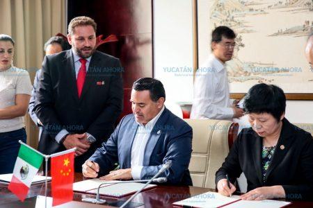 Gestionan que meridanos talentosos estudien en China