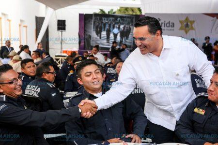 La Policía de Mérida, con alto nivel de confianza del ciudadano