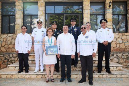 Amplia coordinación de Mérida con las fuerzas armadas