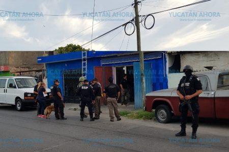 Cateo antinarcóticos en Mérida con dos detenidos