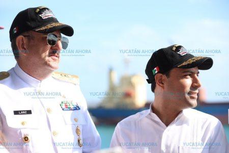 Encabeza el gobernador Mauricio Vila festejos del Día de la Marina