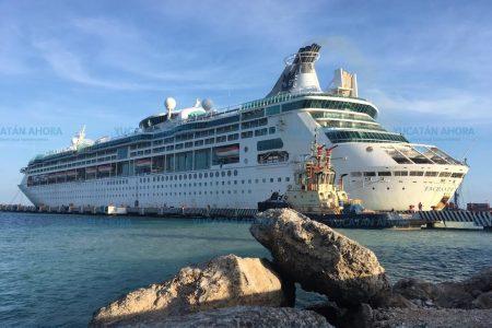 Atraca en Yucatán un nuevo crucero