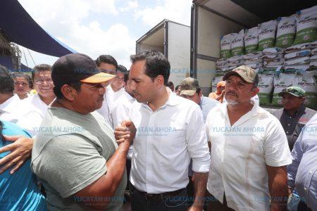 Triplican apoyos para el campo yucateco
