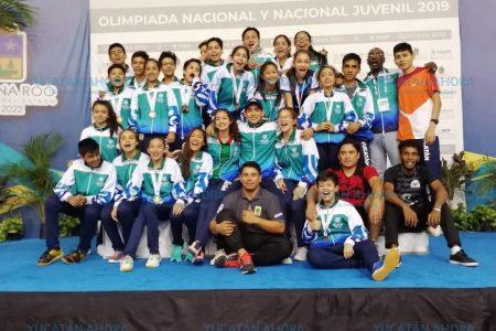 Yucatán obtiene histórico resultado en Olimpiada y Nacional Juvenil 2019