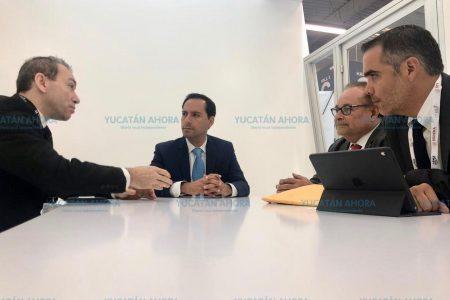 Mauricio Vila posiciona a Yucatán ante la industria aeronáutica mundial
