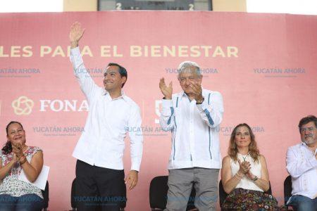 Mauricio Vila refrenda trabajo coordinado con AMLO