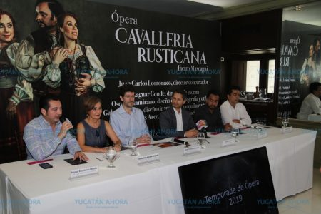 Presentan en Mérida una de las óperas más aclamadas