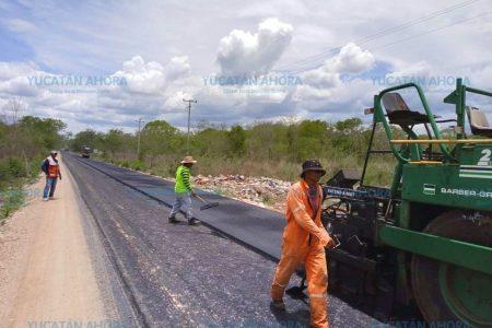 Rehabilitan caminos en la ruta de los cenotes de Yucatán