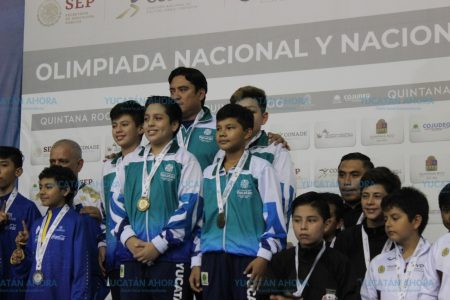 Yucatán llega a 50 medallas de oro en la Olimpiada Nacional
