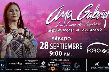 Comienza la venta de boletos para el concierto de Ana Gabriel