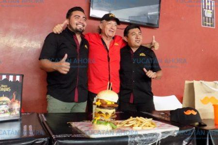 Angry Angus Mérida busca al 'come hamburguesas' más rápido