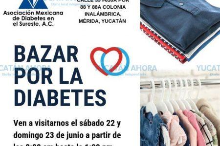 Recaudan fondos para pacientes con diabetes en Mérida