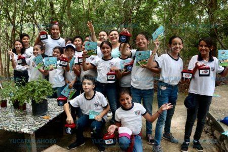 Niñez meridana aprende a cuidar el planeta en las Eco Jornadas LTH