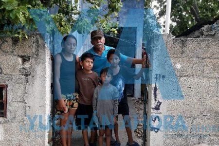 Édgar está creciendo contra la miseria y demasiadas penas