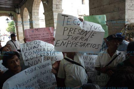 Acusan a empresarios y autoridades agrarias de quitarles sus tierras