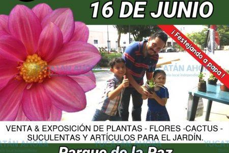 Este domingo, Expo Jardín en el Parque de la Paz