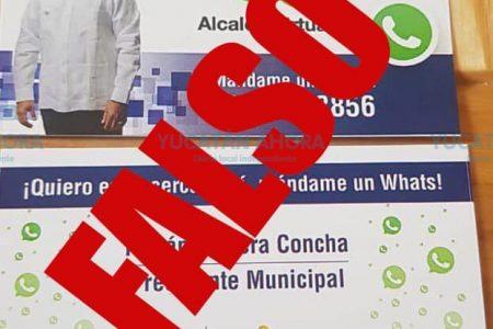 Alertan sobre información falsa del alcalde Renán Barrera