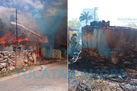 Abuelito pierde su humilde casa tras incendiarse de la nada